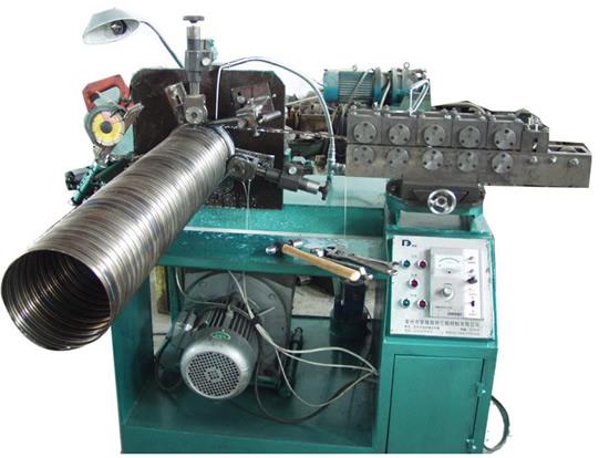 金属波纹管卷管机