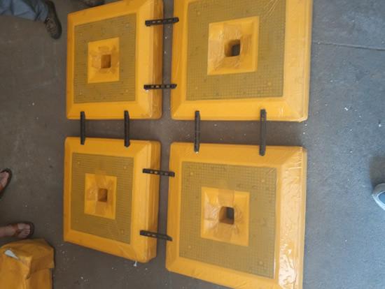 EPS轻质箱体及限位卡条组合