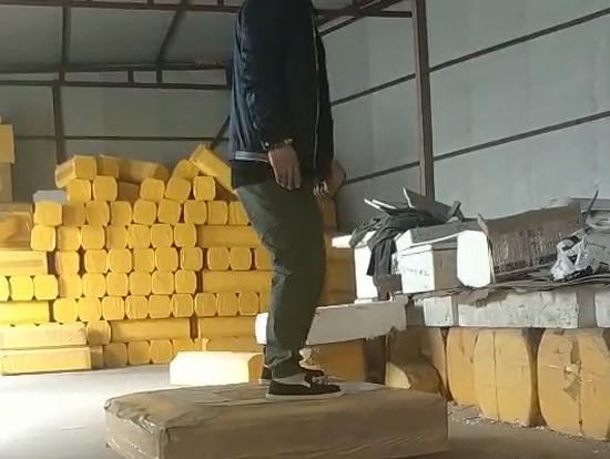 ESP轻质箱体抗踩踏测试